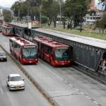 Le Transmilenio et les minibus