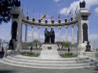 En longeant la promenade de Guayaquil