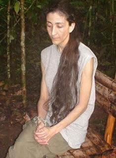 Ingrid Betancourt en captivité