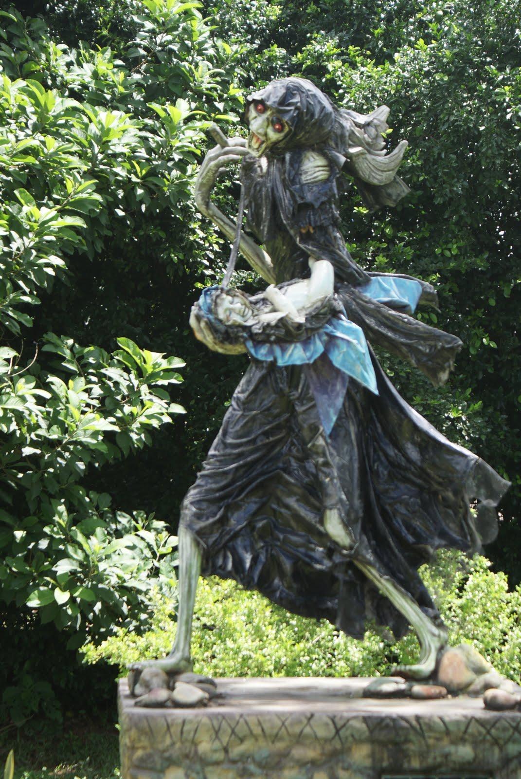 Statue de la Llorona (du blog erney-imgenesllanosorientales)