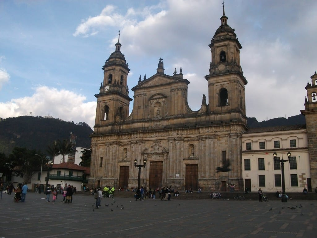 Cathédrale à Bogota