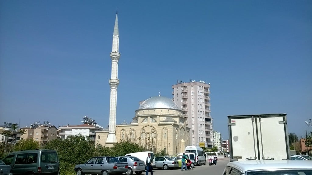 Une jolie mosquée