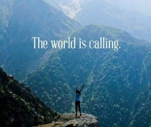 Le monde appelle!