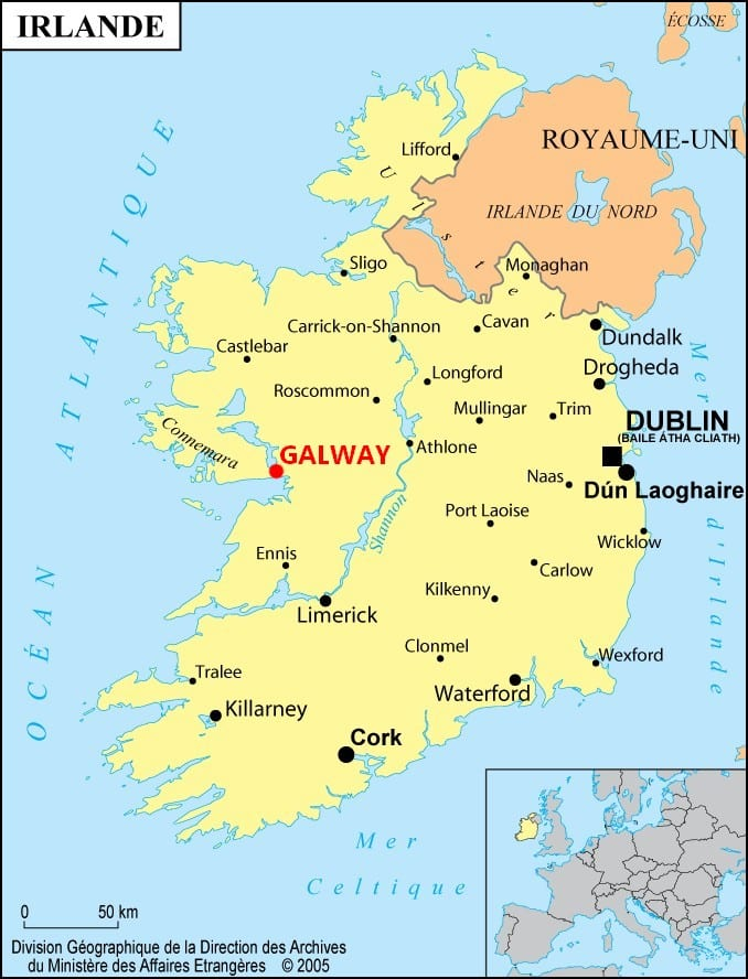 Galway, la ville des tribus – Irlande