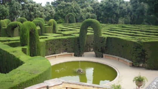 Le parc du labyrinthe d'Horta -Barcelone
