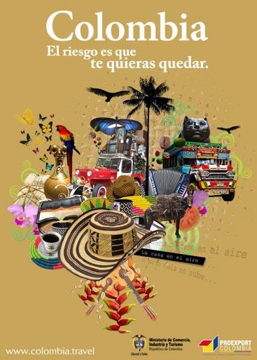 La Colombie, le seul risque est de vouloir y rester