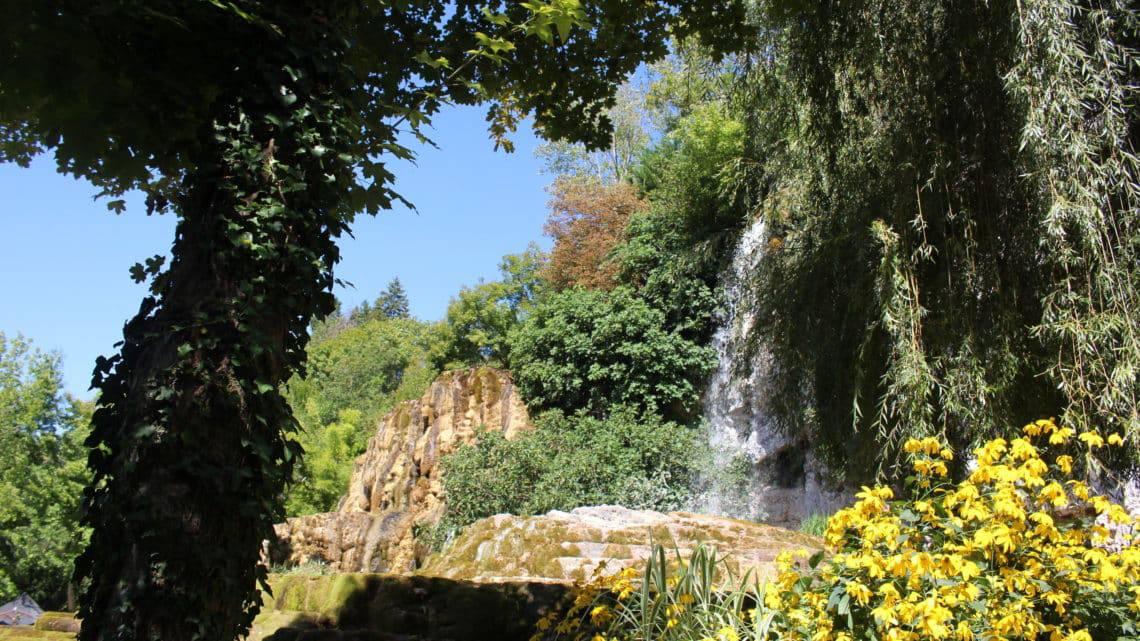 Grenoble jour 3 – Jardin des Fontaines Pétrifiantes