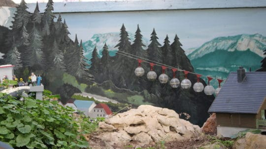 Grenoble jour 3- le Jardin Ferroviaire